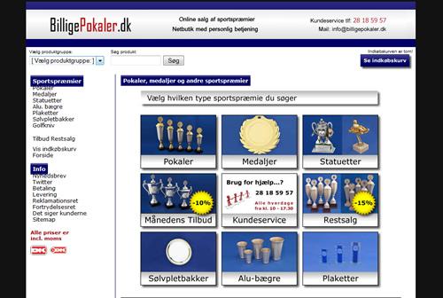 Online salg af sportspræmier